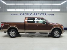 Ford F-150 CREW-SHORT-LARIAT-REVERSE CAMERA-LEATHER-4WD-1 OWNER 2011