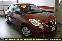 2014 Nissan Versa SV South Burlington VT