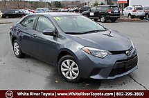 2014 Toyota Corolla LE White River Junction VT