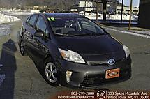 2012 Toyota Prius Two White River Junction VT
