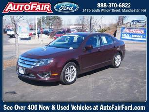 2012 Ford Fusion SEL Manchester NH