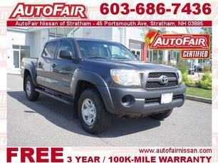 2011 Toyota Tacoma 4WD Double Cab Stratham NH