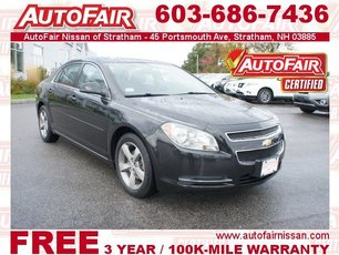 2011 Chevrolet Malibu LT with 1LT Stratham NH