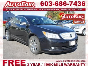 2012 Buick LaCrosse Leather Stratham NH