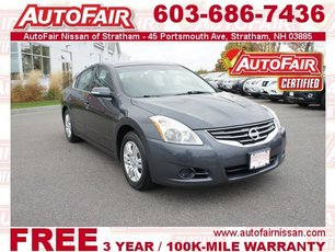 2012 Nissan Altima 2.5 S - Power Seat, Moonroof Packages Stratham NH