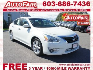 2014 Nissan Altima 2.5 SL - Technology, Moonroof Packages Stratham NH