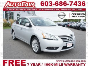 2013 Nissan Sentra SL - Navigation, Premium Packages Stratham NH