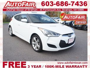 2013 Hyundai Veloster with Black Int Stratham NH