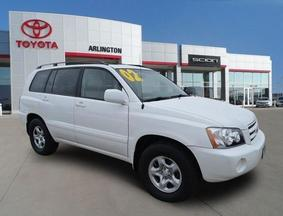 2002 Toyota Highlander 4DR 2WD AT Palatine IL