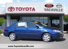 2006 Toyota Corolla Le Sedan Vacaville CA