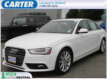 2013 Audi A4 2.0T quattro Premium Plus Seattle WA