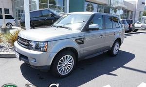 Land Rover RR Sport HSE Rear DVD's 2013