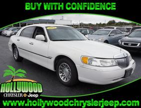 2002 Lincoln Town Car Presidential Fort Lauderdale FL