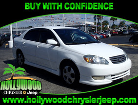 2003 Toyota Corolla S Fort Lauderdale FL
