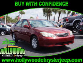 2005 Toyota Camry LE Fort Lauderdale FL