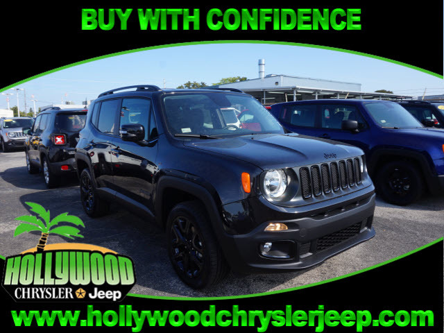 2016 jeep renegade latitude 4x4 batman vs superman hollywood fl 12458137. Black Bedroom Furniture Sets. Home Design Ideas