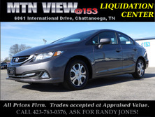 Honda Civic Hybrid w/Leather 2014