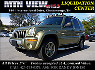 2002 Jeep Liberty Renegade Chattanooga TN