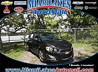 2014 Chevrolet Sonic RS Auto Miami Lakes FL