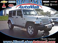 2010 Jeep Wrangler Unlimited Sahara Miami Lakes FL