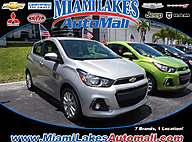 2016 Chevrolet Spark 1LT Manual Miami Lakes FL