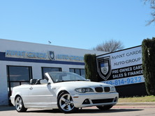 BMW 325CiC VERY RARE !!! CONVERTIBLE! WHITE WITH BLUE TOP 2004