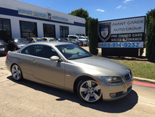 BMW 335i CONVERTIBLE NAVIGATION SPORT PACKAGE, HEATED SEATS, COMFORT ACCESS !!! LOADED!!! 2009