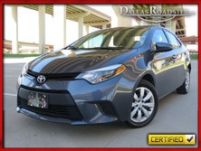 Toyota Corolla | 1 Owner | Clean Carfax LE | 1.8L 4CYL | Rear View Camera 2014