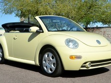 Volkswagen New Beetle Convertible 2DR CONVERTIBLE GLS MANUA 2003