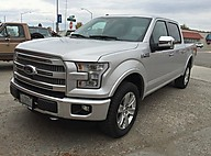 2015 Ford F-150 Platinum 701A 5.0L V8 FFV 4x4 145WB Billings MT