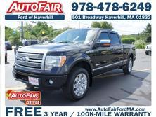 Ford F-150 4WD SuperCrew 145 Platinum 2012