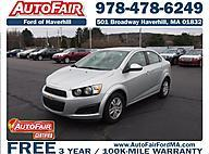 2014 Chevrolet Sonic 4dr Sdn Auto LT  NH