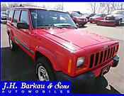2000 Jeep Cherokee 4dr Sport 4WD