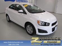 2015 Chevrolet Sonic 4dr Sdn Auto LT Madison WI