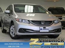 2015 Honda Civic 4dr Manual LX Madison WI