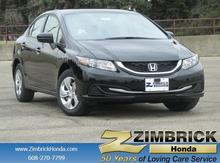 2015 Honda Civic 4dr Manual LX Madison WI