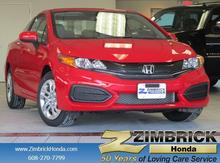 2015 Honda Civic 2dr CVT LX Madison WI