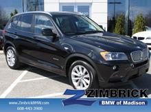 2013 BMW X3-Series AWD 4dr xDrive28i Madison WI