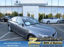 2009 BMW 5 Series 4dr Sdn 550i RWD Madison WI