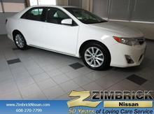 2012 Toyota Camry 4dr Sdn I4 Auto XLE (Natl) Madison WI