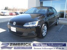 2012 Volkswagen Jetta 4dr Manual S w/Sunroof Madison WI