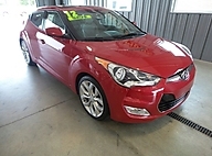 2012 Hyundai Veloster 3dr Cpe Auto w/Black Int Lawrence KS