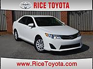 2012 Toyota Camry LE EDITION LOW MILES Greensboro NC