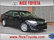 2013 Toyota Camry 4DR SDN I4 L AT Greensboro NC