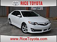 2012 Toyota Camry SE LEATHER PACKAGE Greensboro NC