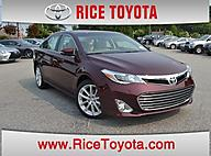 2015 Toyota Avalon Limited V6 Sedan Greensboro NC