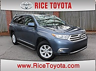 2012 Toyota Highlander 'SE'LEATHER S-ROOF Greensboro NC