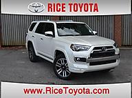 2014 Toyota 4Runner 4WD 4DR V6 LIMITED Greensboro NC