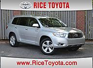 2008 Toyota Highlander 4DR 4WD LTD AT Greensboro NC
