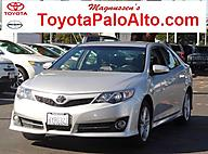 2013 Toyota Camry SE Palo Alto CA